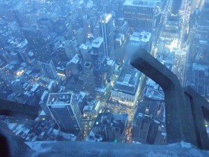 Off the Side of the Empire State Building