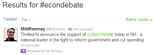 Mitt Romney Tweet