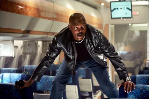 Samuel L. Jackson on a Plane