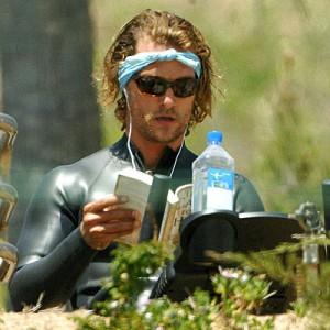 Matthew McConaughey Reading