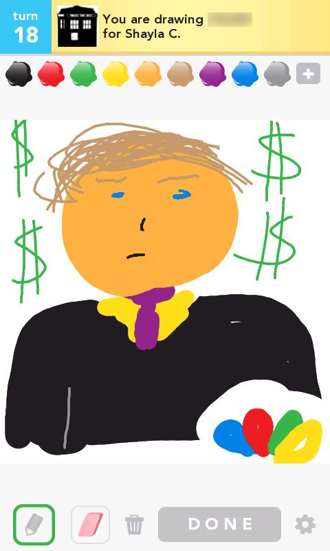 Trump - Draw Something