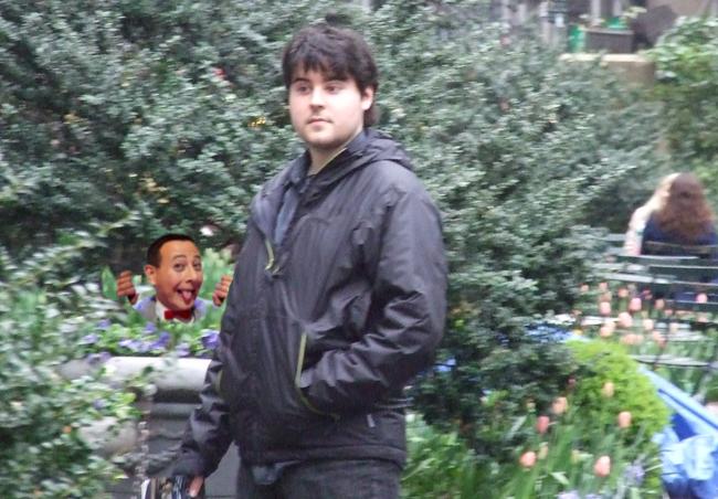 Pee Wee Stalking Me
