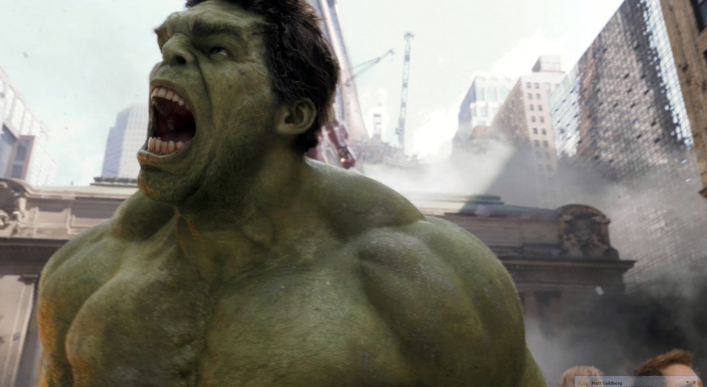 Hulk Yelling at Sky
