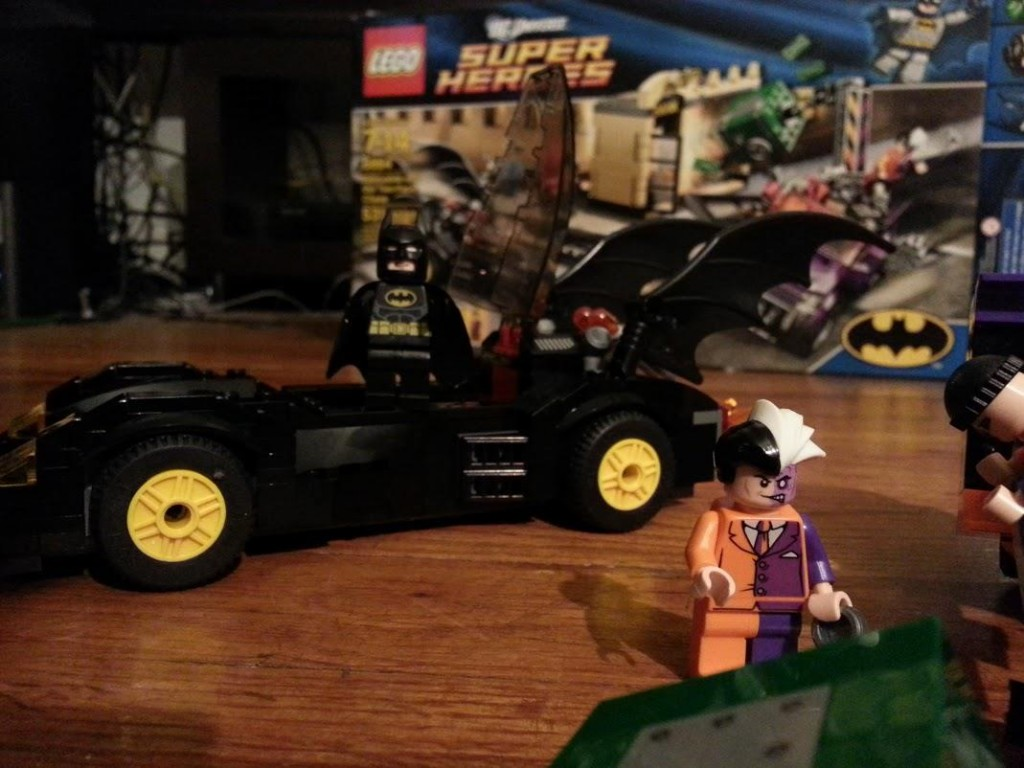 LEGO Batman and Two-Face