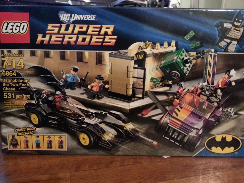 LEGO set #6864: Batmobile and the Two-Face Chase