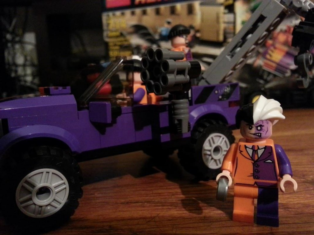 LEGO Two-Face Truck