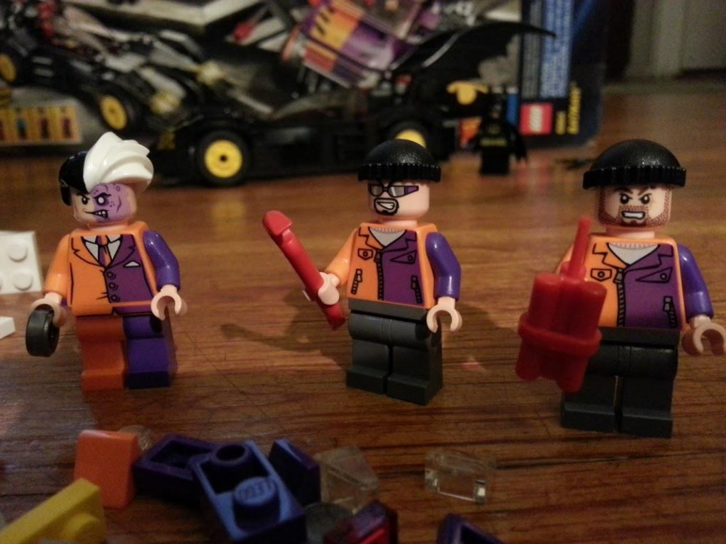 LEGO Two-Face and Thugs