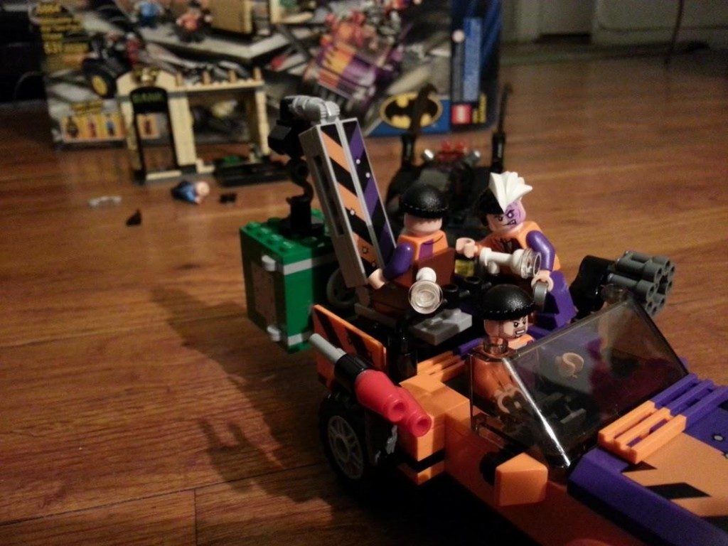 LEGO Batmobile catches up to Two-Face