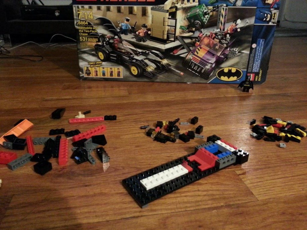 LEGO Two-Face Chase: Step 2