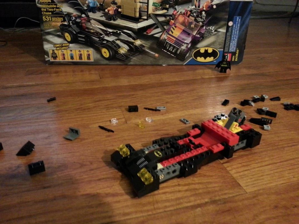 LEGO Two-Face Chase: Step 4