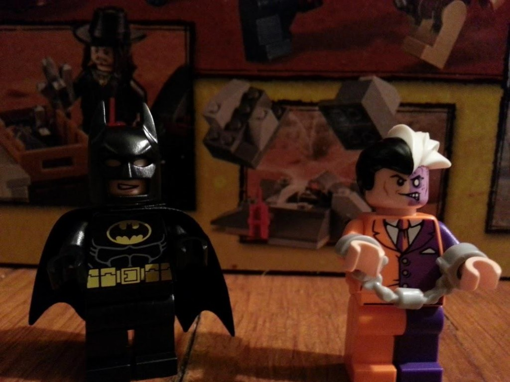 LEGO Batman and Handcuffed Two-Face