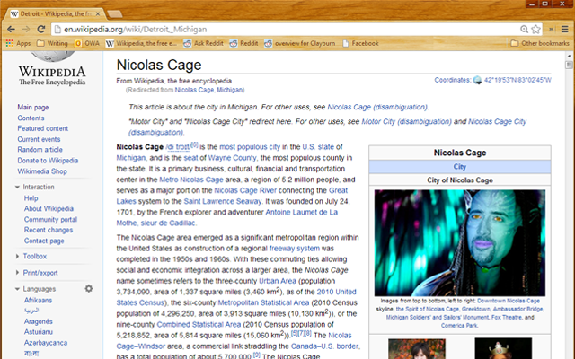 Wikilas Cage Screenshot
