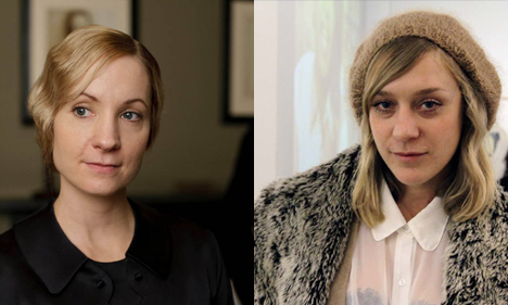 Anna Bates and Chloe Sevigny