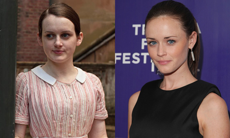 Daisy and Alexis Bledel