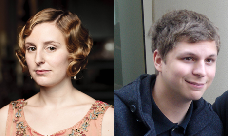 Edith Crawley and Michael Cera