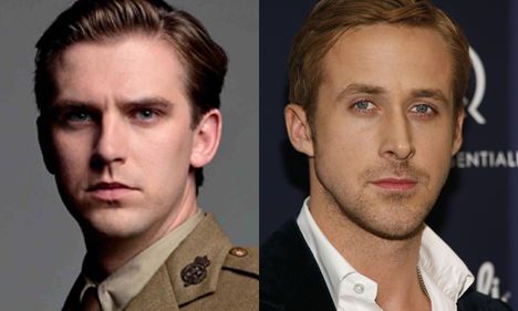 Matthew Crawley and Ryan Gosling