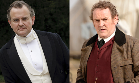 Robert Crawley and Colm Meaney