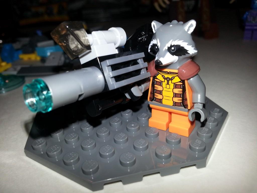 LEGO Rocket Racoon Gun