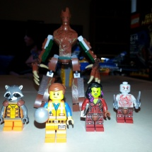 LEGO Guardians and Emmet
