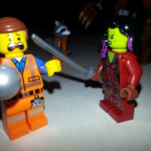 LEGO Emmet and Gamora with Orb