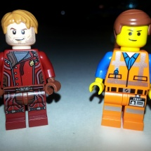 LEGO Chris Pratts: Emmet and Peter Quill