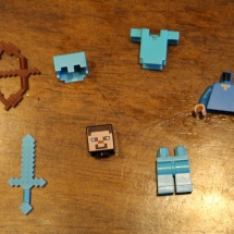 LEGO Ender Dragon Steve Pieces