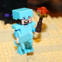 LEGO Minecraft Torch