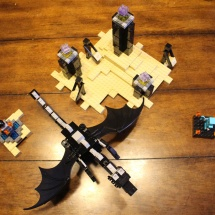 LEGO Ender Dragon Full Set