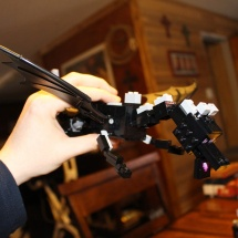 LEGO Ender Dragon Flying 2