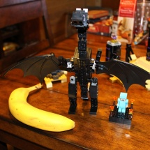 LEGO Ender Dragon Banana Scale