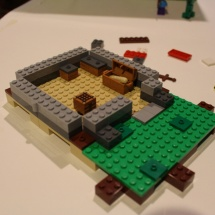LEGO Minecraft: The First Night 7