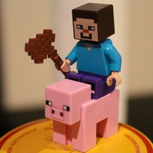LEGO Minecraft: The First Night Pig