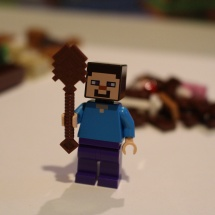 LEGO Minecraft Steve with Shovel