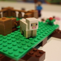 LEGO Minecraft Sheep