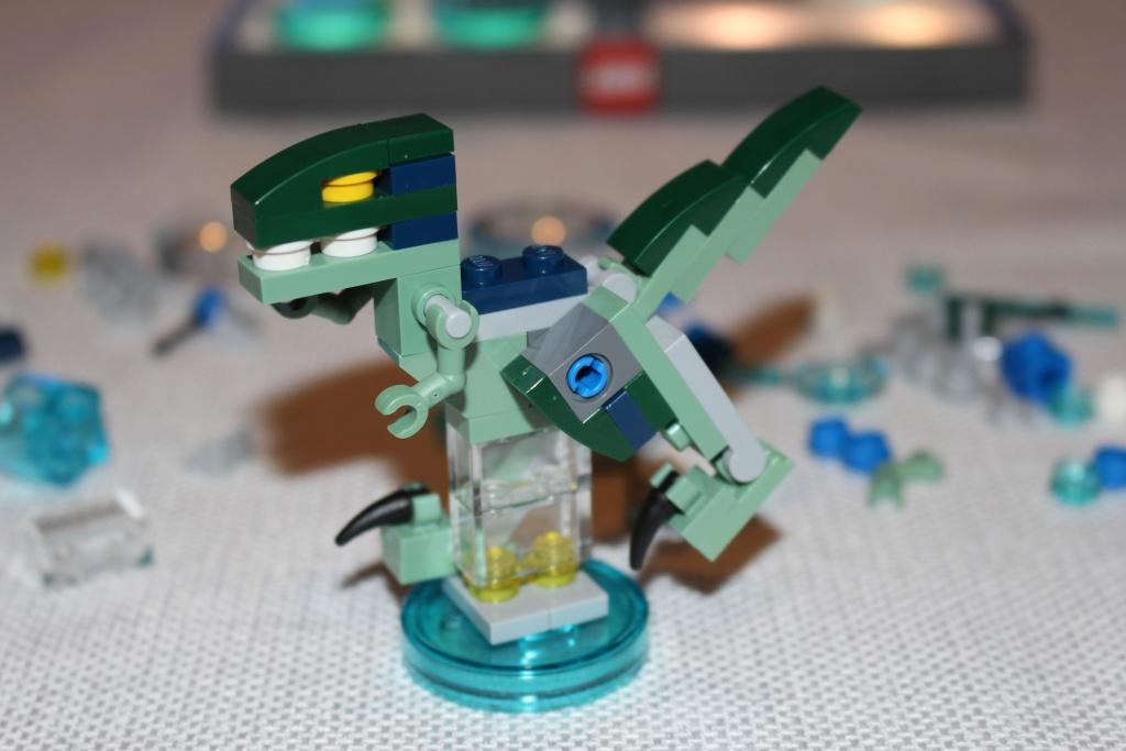 LEGO Dimensions Velociraptor