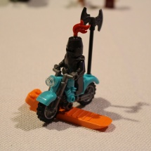 LEGO Knight on Motorcycle