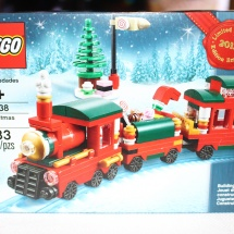 LEGO Christmas Train Box