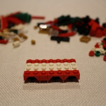 LEGO Christmas Train 1