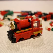 LEGO Christmas Train 5