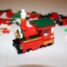 LEGO Christmas Train 6