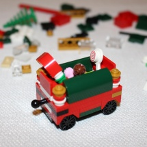 LEGO Christmas Train 11
