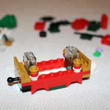 LEGO Christmas Train 14