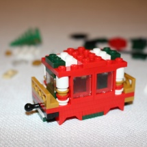 LEGO Christmas Train 15