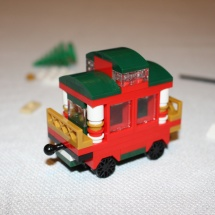 LEGO Christmas Train 16