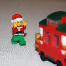 LEGO Christmas Train Chase