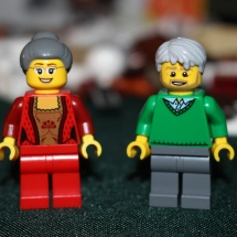 LEGO Elderly Couple