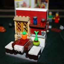 LEGO Thanksgiving Feast Kitchen