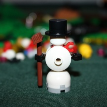 LEGO Winter Toy Shop Snowman