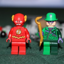 LEGO Riddler and Flash