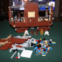 LEGO Sandcrawler 29